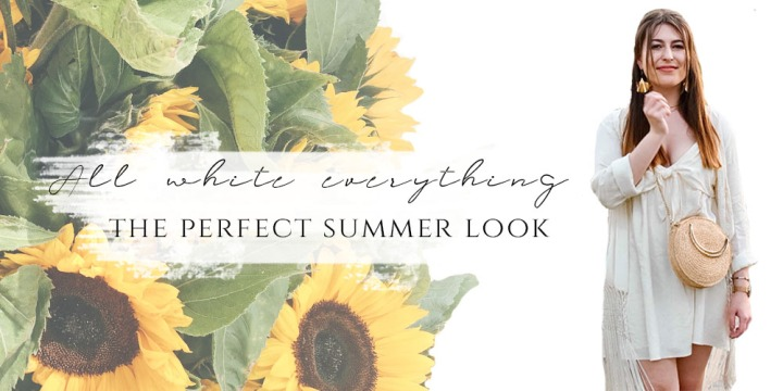 ALL WHITE EVERYTHING – The perfect Summer Look