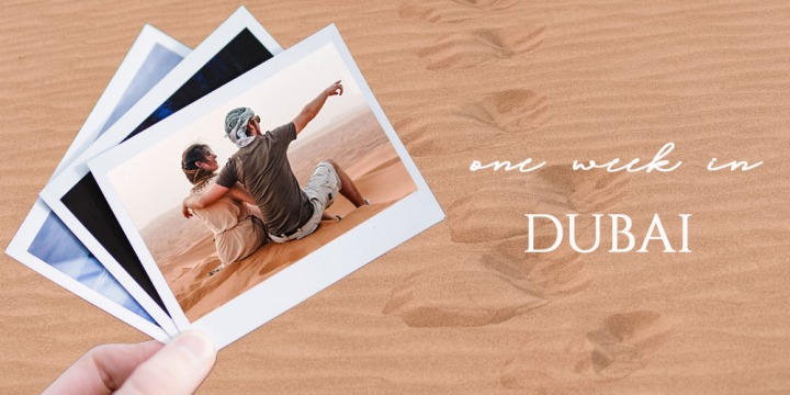 Eine Woche Dubai – travel withme