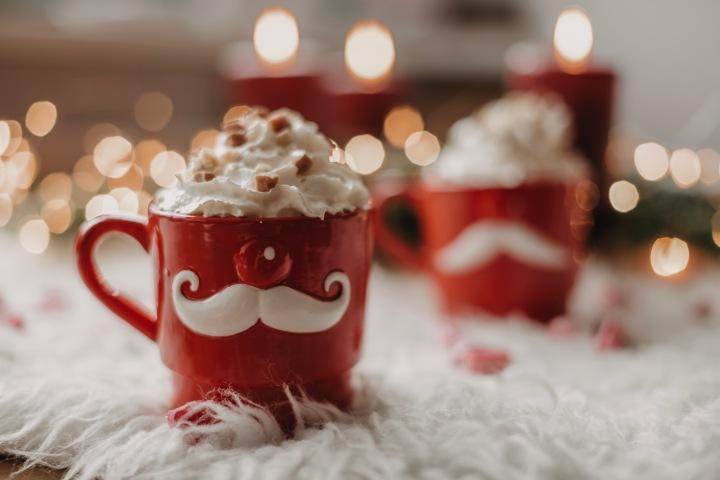 Selbtgemachter Weihnachtskaffee